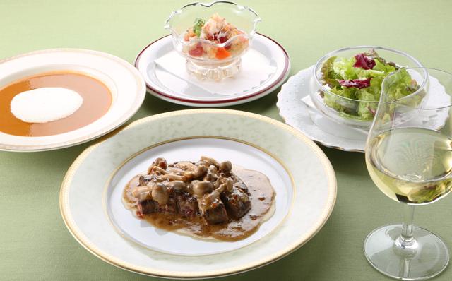 ラウロ オリジナルコース料理
